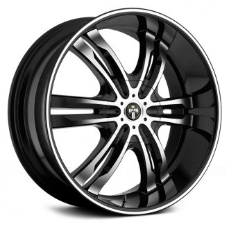 DUB® - PHASE SIX Black with Machined Face