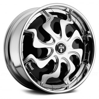 DUB® - PHENOM Chrome with Black Base