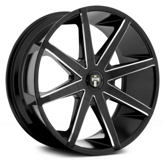 DUB® - PUSH Black with Milled Accents