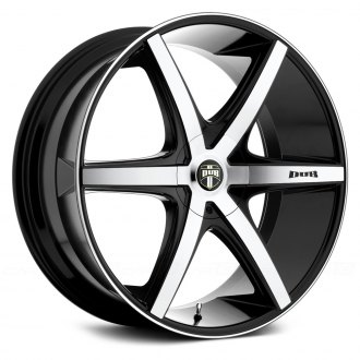 DUB® - RIO 6 Black with Machined Face