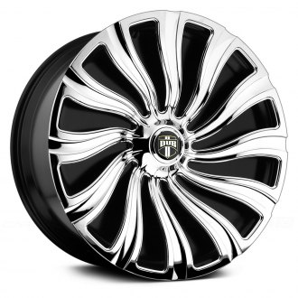 DUB® - S910 KUTZ Chrome with Black Base