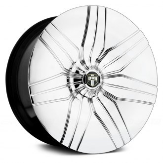 DUB® - S913 THUDDIE Chrome with Black Base