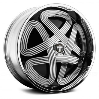 DUB® - SLOTS Chrome with Black Base