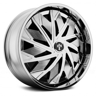 DUB® - SPAZZ Chrome with Black Base
