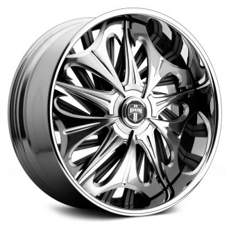 DUB® - SPIKE Chrome with Black Base