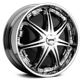 DUB® - STALLION Chrome with Black Base