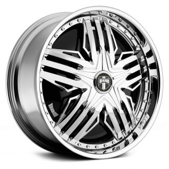 DUB® - STUNTIN Chrome with Black Base