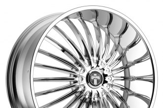 "DUB® - SUAVE Chrome (26"" x 9.5"", +25 Offset, 5x150 Bolt Pattern, 110.3mm Hub)"