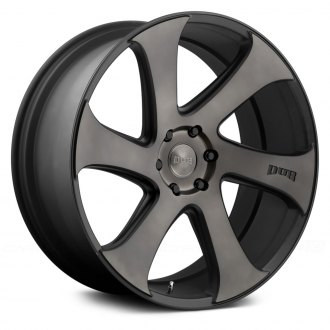 DUB® - SWERV Black with Machined Face and Double Dark Tint