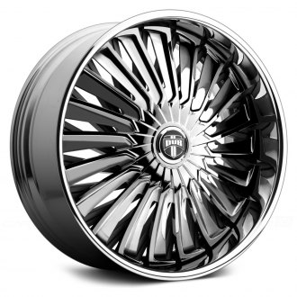 DUB® - TURBINE Chrome with Black Base
