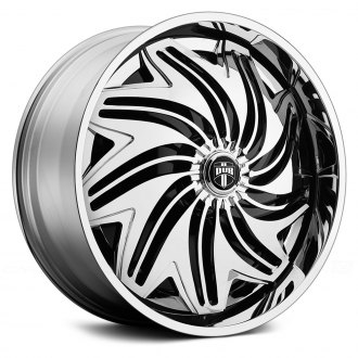 DUB® - TWSTD Chrome with Black Base