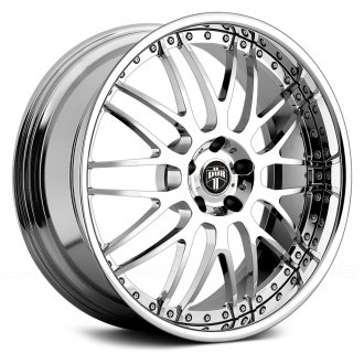 DUB® - X-57 MERLOT 3PC Chrome