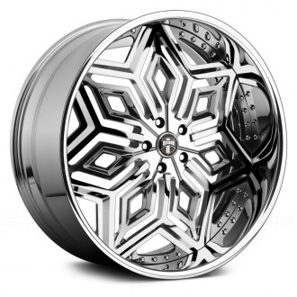 DUB® - X-87 CHRON 3PC Chrome