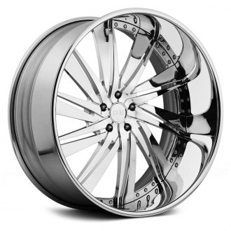 DUB® - XB-10 STATICA 3PC Chrome