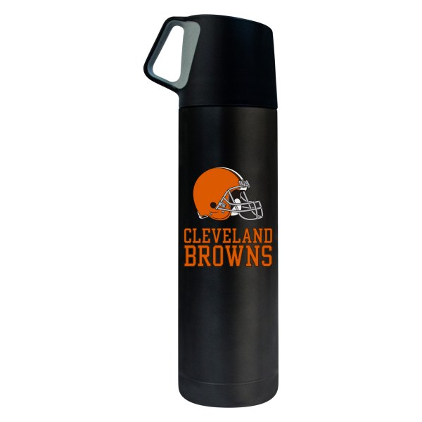 NFL New England Patriots 17oz Double Wall Stainless Steel Coffee Thermos with Cup