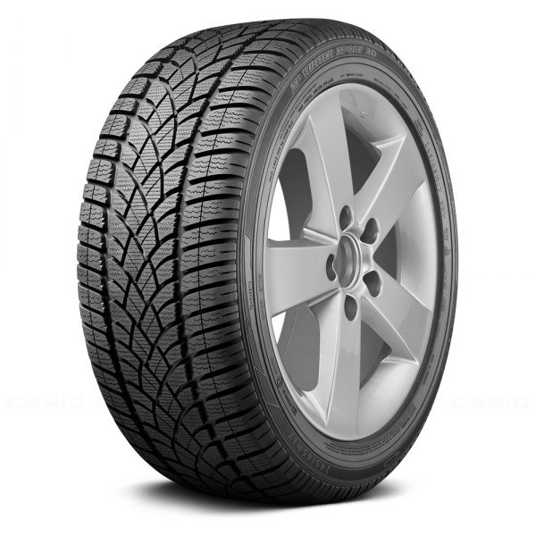 DUNLOP® - SP WINTER SPORT 3D Tire Protector Close-Up