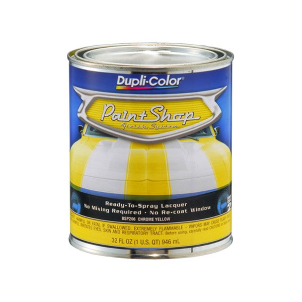 Dupli-Color® BSP206 - 32 oz. Chrome Yellow Paint Shop™ Base Coat