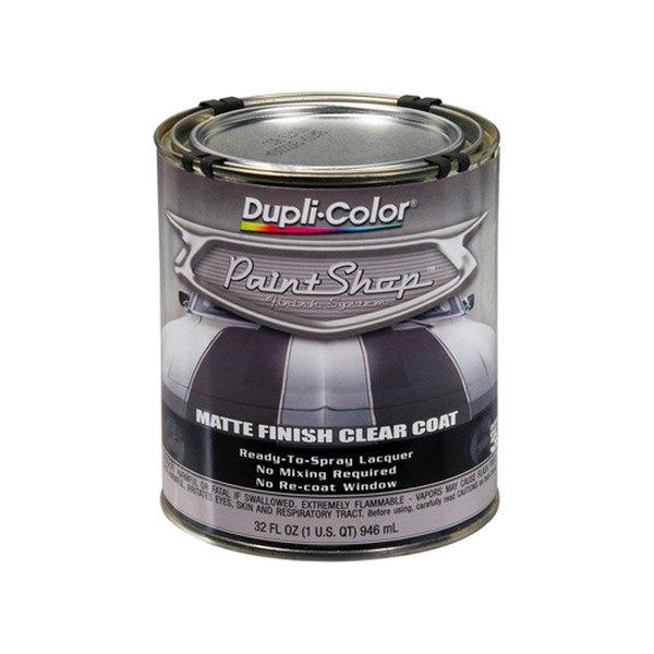 Dupli-Color® BSP307 - 32 oz. Matte Paint Shop™ Clear Coat