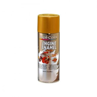 Dupli-Color® - 12 oz. Engine Gold Enamel Paint Contains Ceramic Resins