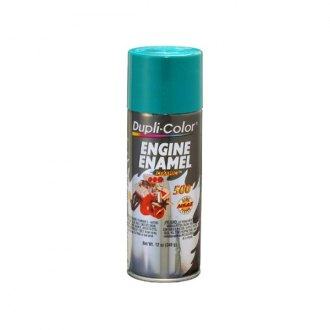Dupli-Color® - 12 oz. Engine Ford GreenEnamel Paint Contains Ceramic Resins