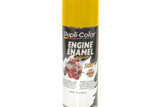Dupli-Color® DE1642 - 12 oz. Engine Daytona Yellow Enamel Paint ...