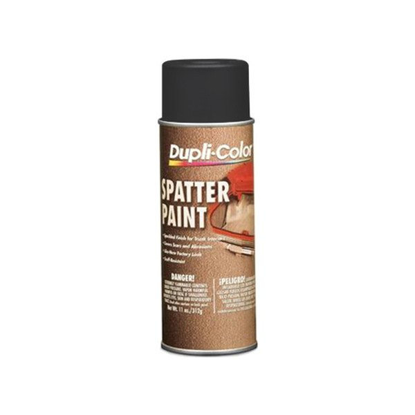 Dupli-Color® DM102 - 11 oz. Spatter Trunk Paint Black and Gray