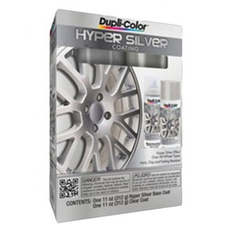 Dupli-Color® - Hyper Silver Wheel Kit