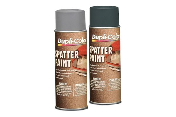 Dupli-Color® - Trunk Spatter Paint (Gray and White)