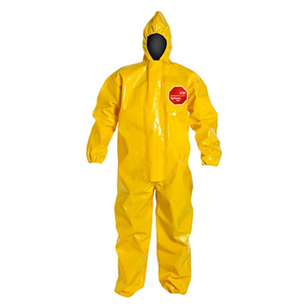 Dupont D13464788 Tychem 9000 X Large Yellow Coverall