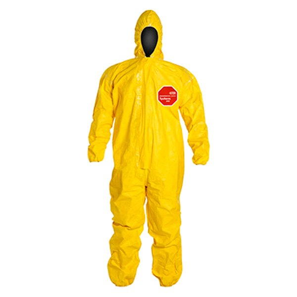 Dupont d13480679 tychem 2000 x large yellow coverall for Dupont exterior protection reviews
