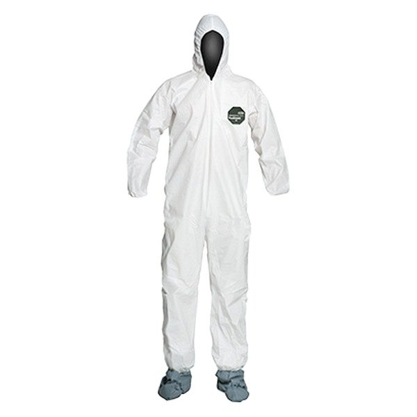 Dupont nb122swhsm25 proshield 50 small white coverall for Dupont exterior protection reviews