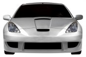 Duraflex® - GT300 Style Wide Body Front Bumper Cover