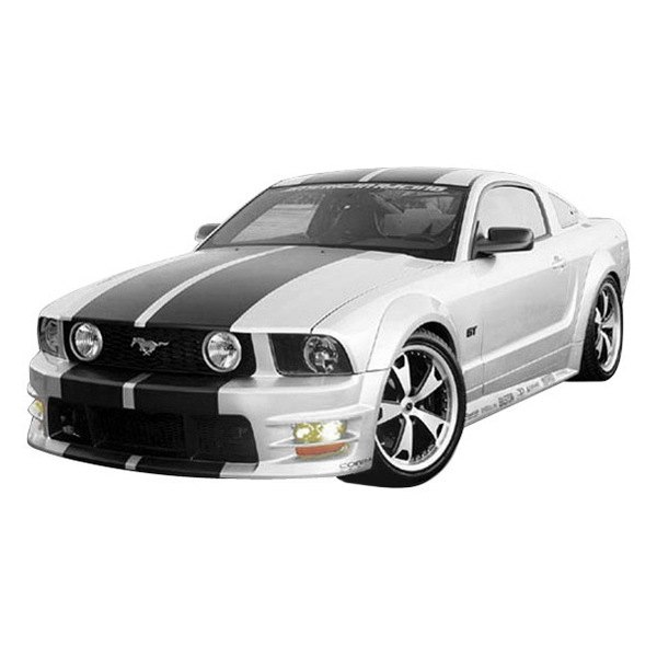 duraflex ford mustang base gt 2005 2006 gt500 style. Black Bedroom Furniture Sets. Home Design Ideas