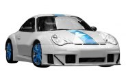 Duraflex® - GT3 RSR Look Widebody Body Kit