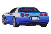 Duraflex® - SP-R Style Rear Bumper Cover
