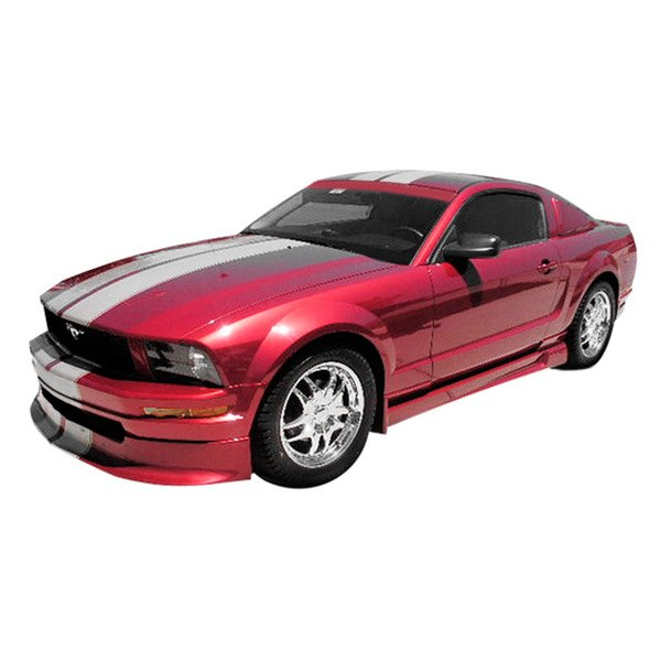 duraflex ford mustang 2005 2009 racer style body kit. Black Bedroom Furniture Sets. Home Design Ideas