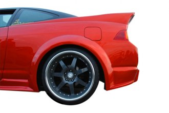 Duraflex® - GT300 Style Wide Body Rear Fender Flares