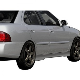 Duraflex® - Evo 5 Style Fiberglass Side Skirt Rocker Panels (Unpainted)