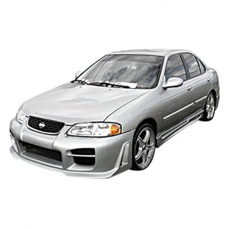 Duraflex® - R34 Style Fiberglass Side Skirt Rocker Panels (Unpainted)