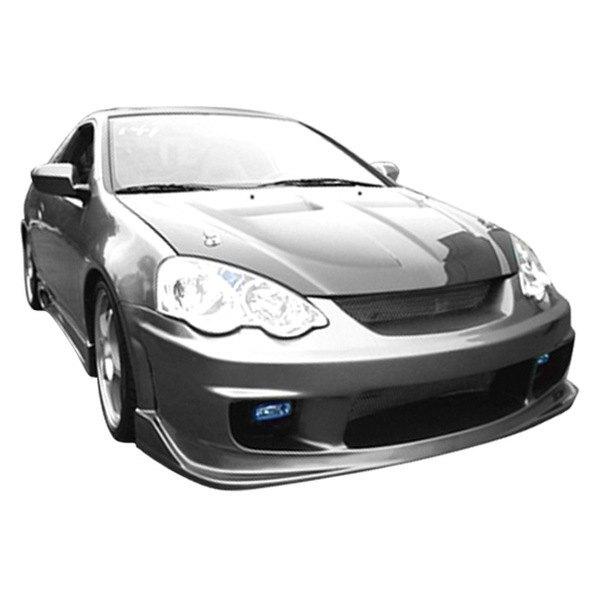 Duraflex Acura RSX ISpec Style Fiberglass Front And Rear - Acura rsx bumper