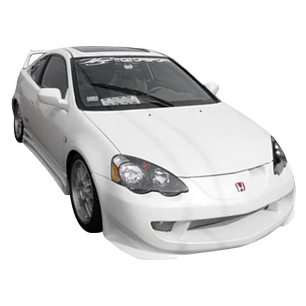 Duraflex Acura RSX Type M Style Fiberglass Front And Rear - 2002 acura rsx front bumper