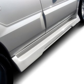 Duraflex® - Platinum 2 Style Fiberglass Side Skirt Rocker Panels (Unpainted)