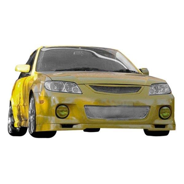 Duraflex® 100374 - Speedzone Style Fiberglass Front Bumper Lip Under Air  Dam Spoiler (Unpainted)
