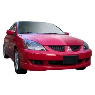 Duraflex® - Rally Style Fiberglass Bumper Lip Under Air Dam Spoilers (Unpainted)