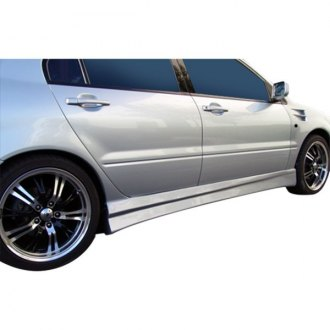 Duraflex® - Walker Style Fiberglass Side Skirt Rocker Panels (Unpainted)