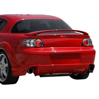Duraflex® - M-1 Speed Style Fiberglass Rear Bumper Lip Under Air Dam Spoiler (Unpainted)