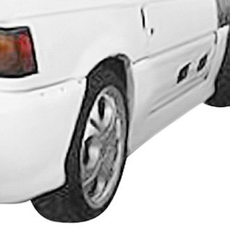 Duraflex® - Type M Style Fiberglass Side Skirt Rocker Panels (Unpainted)
