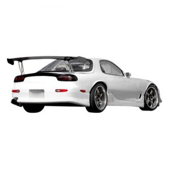 Duraflex® - V-Speed Style Fiberglass Side Skirt Rocker Panels (Unpainted)
