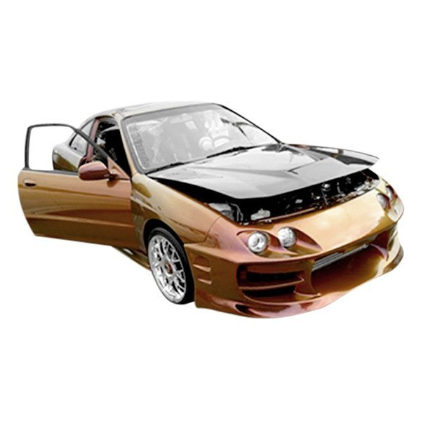Duraflex Acura Integra Bomber Style Fiberglass Front And - 1997 acura integra front bumper