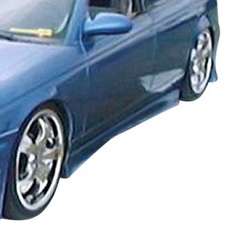 Duraflex® - M3 Style Fiberglass Side Skirt Rocker Panels (Unpainted)